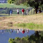 golf reflection